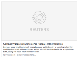 germany-urges-israel-to-scrap-illegal-settlement-bill-reuters