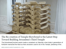 The Re-creation of Temple Showbread is the Latest Step Toward Building Jerusalem's Third Temple - BCN