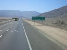 En direction de Antofagasta