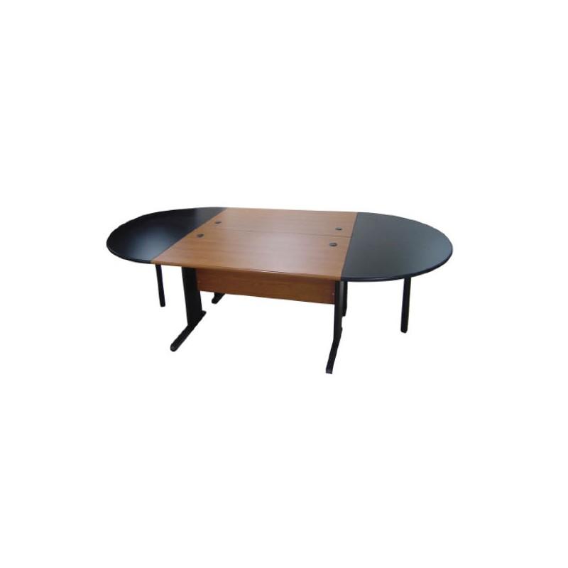 table de reunion en bois melamine 8 10 personnes dim 3200 x 1600 x 750 mm