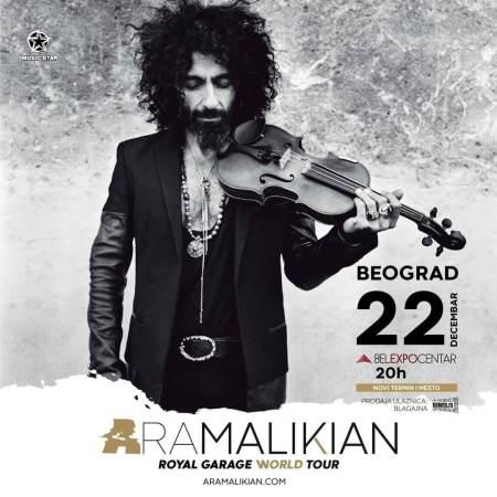 Koncert Ara Malikian Koncerti