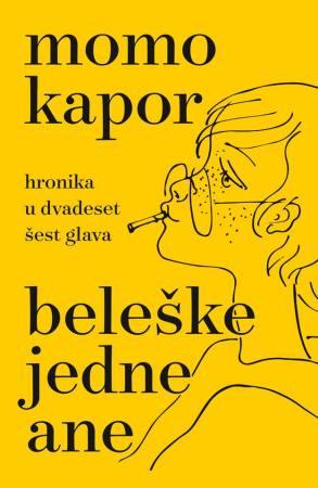 Beleške jedne Ane omot knjige Momo Kapor