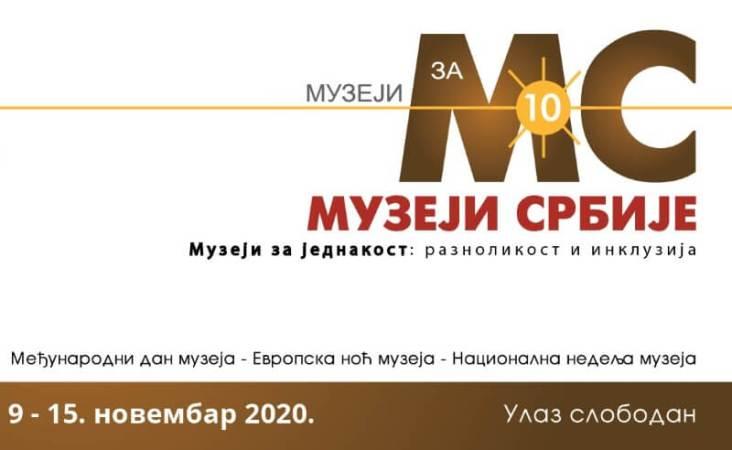 Muzeji za 10 2020 plakat