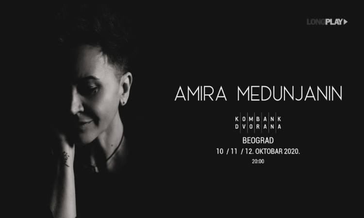 Amira Medunjanin Koncert Kombank Dvorana