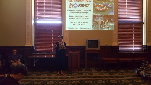 Introducing Ayer-Shirley Regional High School's FIRST Robotics team.