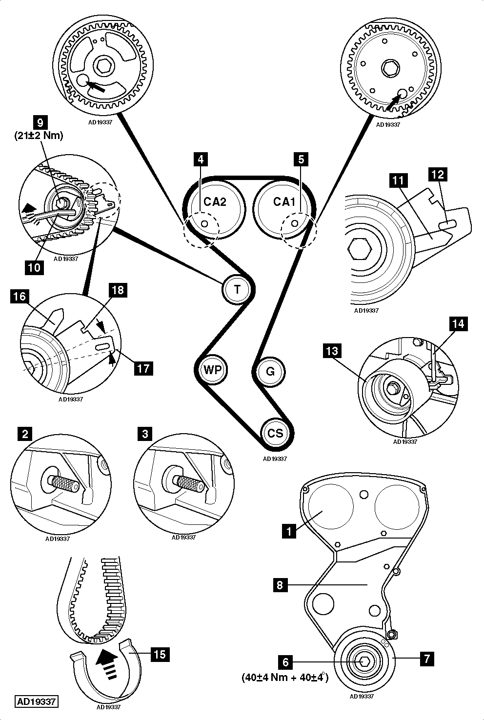 1997 Jeep Cherokee Serpentine Belt Diagram 4 0l Engine