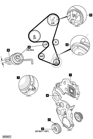 Service manual [How To Replace Timing Belt On A 2006 Maserati Coupe]  Timing Belts Chains