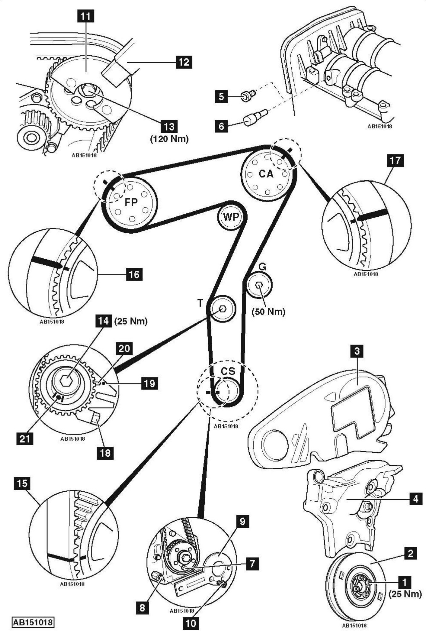 Opel Timing Belt