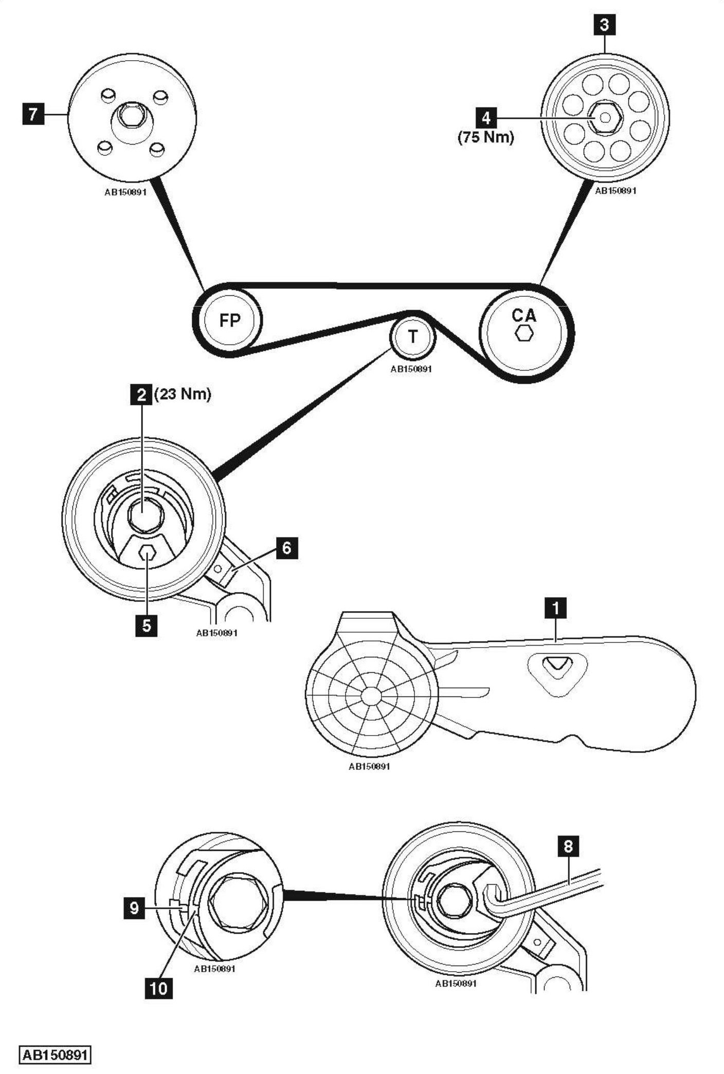 Belt Diagram Bmw X3
