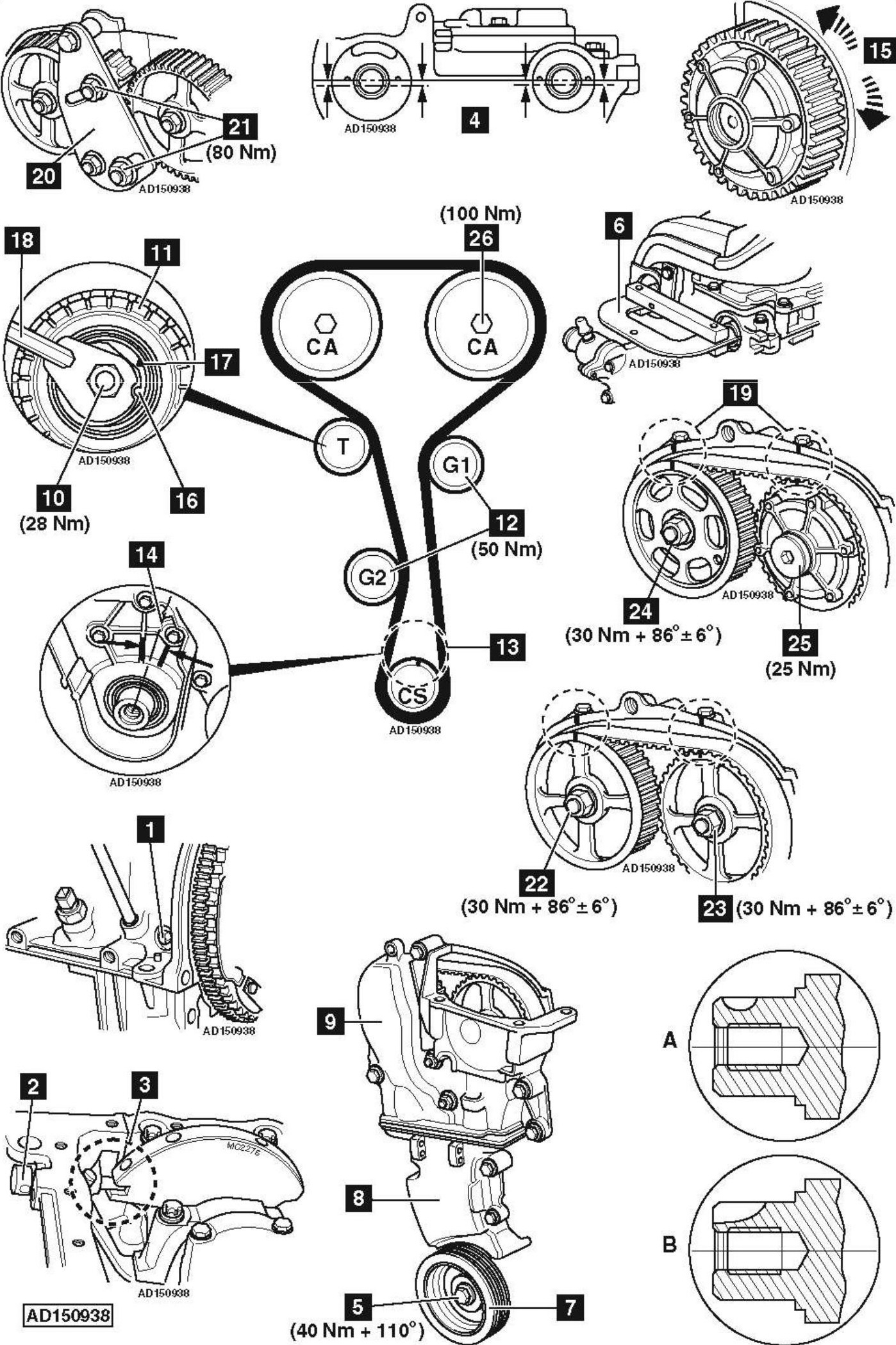 Wrg Twin Cam Engine Diagram 2 4 Timing Chain