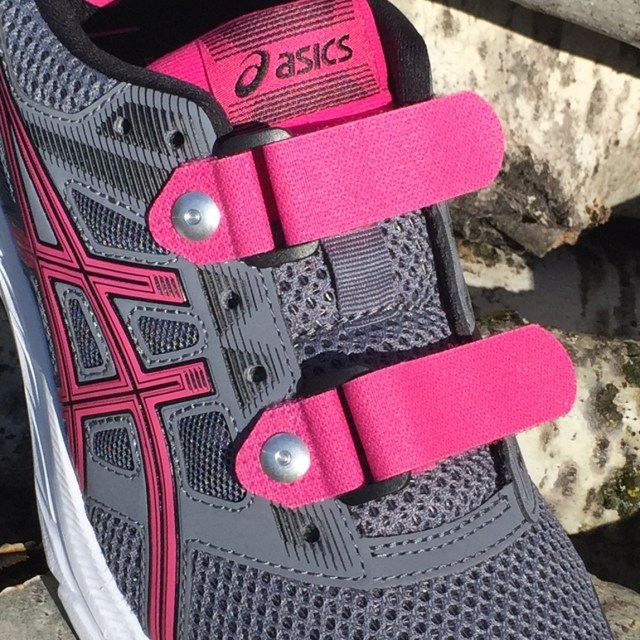 Replace-A-Lace pink no tie shoelaces