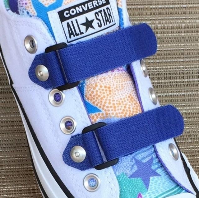 Replace-A-Lace no tie shoelaces