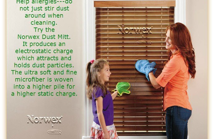 Buy the Norwex Dusting Mitt Today!