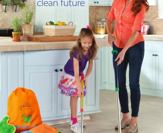 Inspiring & Teaching Children to Clean