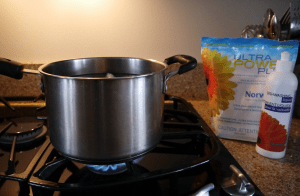 Boiling Norwex Cloths