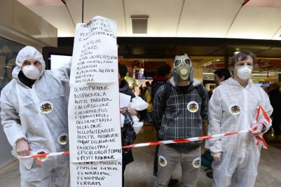 Activists Protest Chemicals