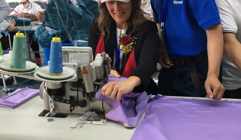 Why are the Norwex cloths made in China?
