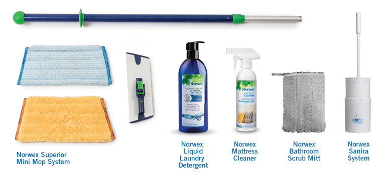 RV clean up with Norwex Products 2