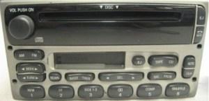 Explorer Sport Trac CD Cassette radio w CDC (tan)