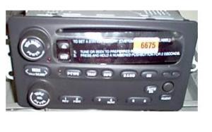 22716675 Alero Intrigue 20022004 CD U1P radio 10317993 NEW 12237141