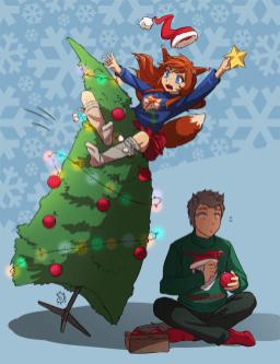 Christmas sketch~