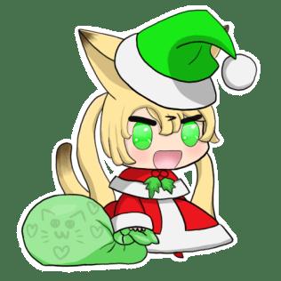 Christmas Padoru Laura by Nohealforu