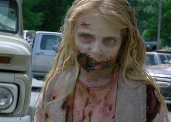 The Walking Dead child zombie