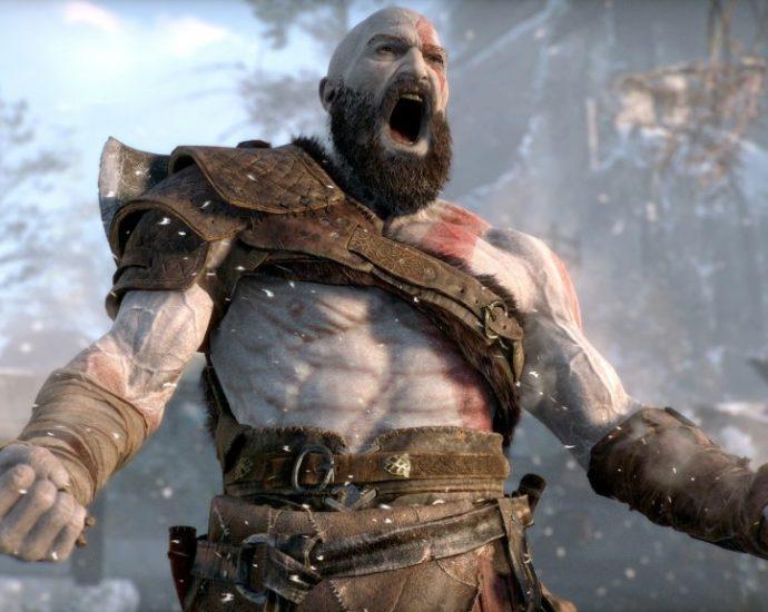 God of War [2018] Kratos shouting