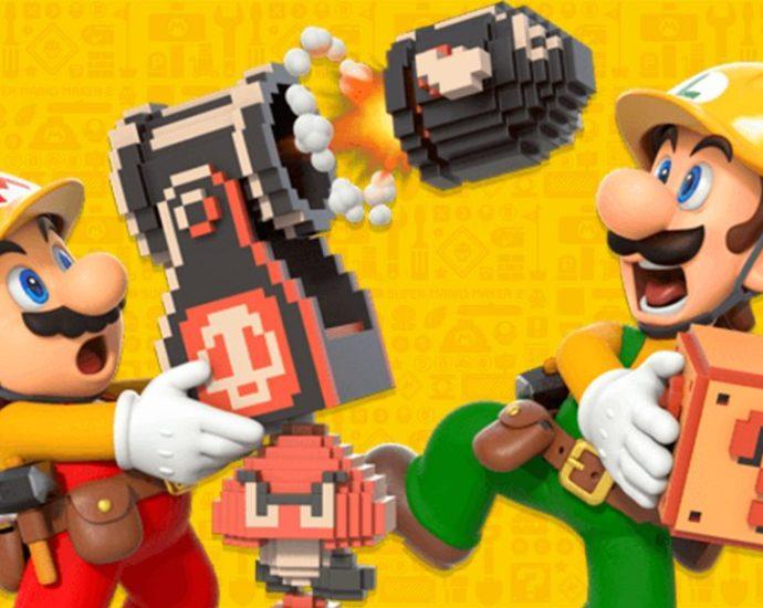 Super Mario Maker 2 Mario and Luigi