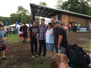 Replenish Festival 2015 – JJ Weeks with fan