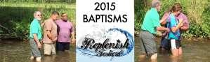 Replenish Festival 2015 Baptisms