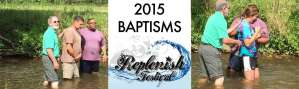 Replenish Festival 2015 Baptisms