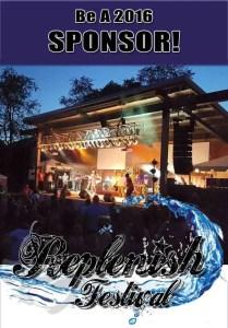 Be A 2016 Replenish Festival Sponsor