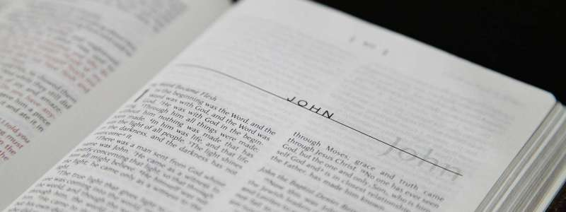 Bible Book of John