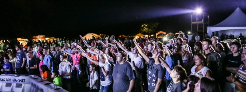 Worship at Replenish Festival