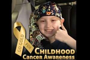 Beckett Wyatt, Childhood Cancer