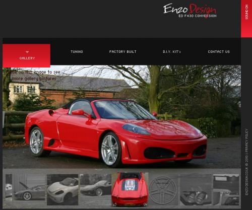Enzo Design F430 replica kit