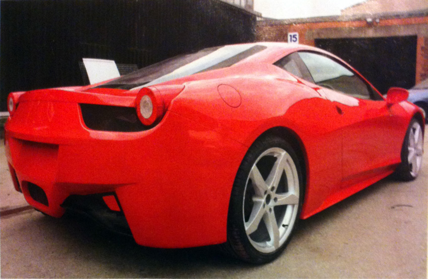 Ferrari 458 Italia replica by DNA (2/2)
