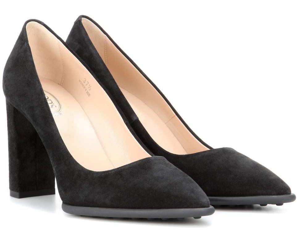 Tod's block heels