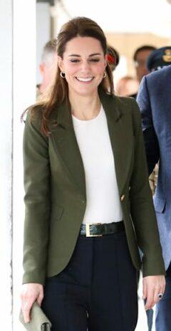 Smythe 'Duchess' khaki blazer