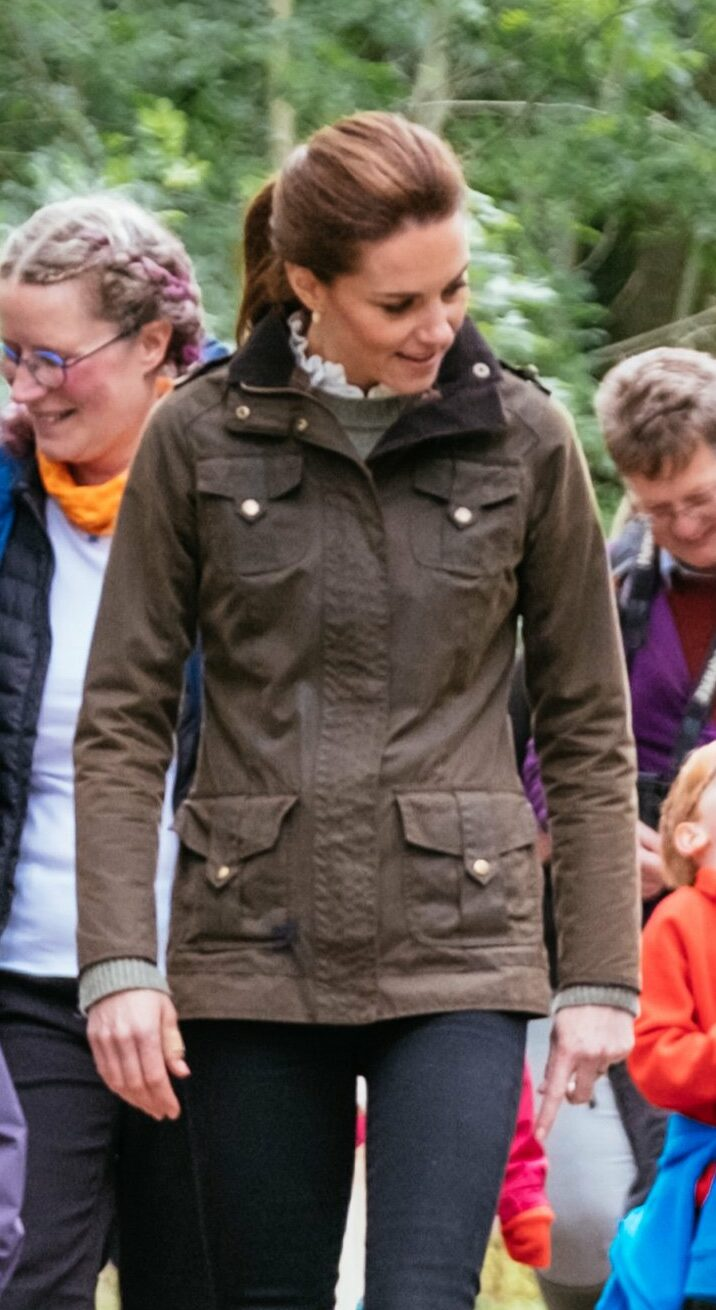 Barbour 'Defence' wax jacket