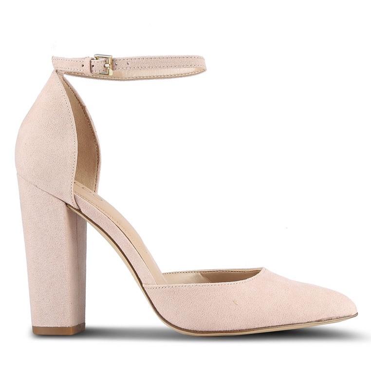 Aldo 'Nicholes' pointed block heel sandal