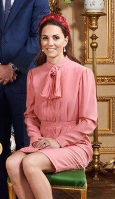 Stella McCartney silk pussybow dress