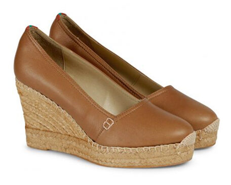 Penelope Chilvers 'Colina' leather espadrille wedges