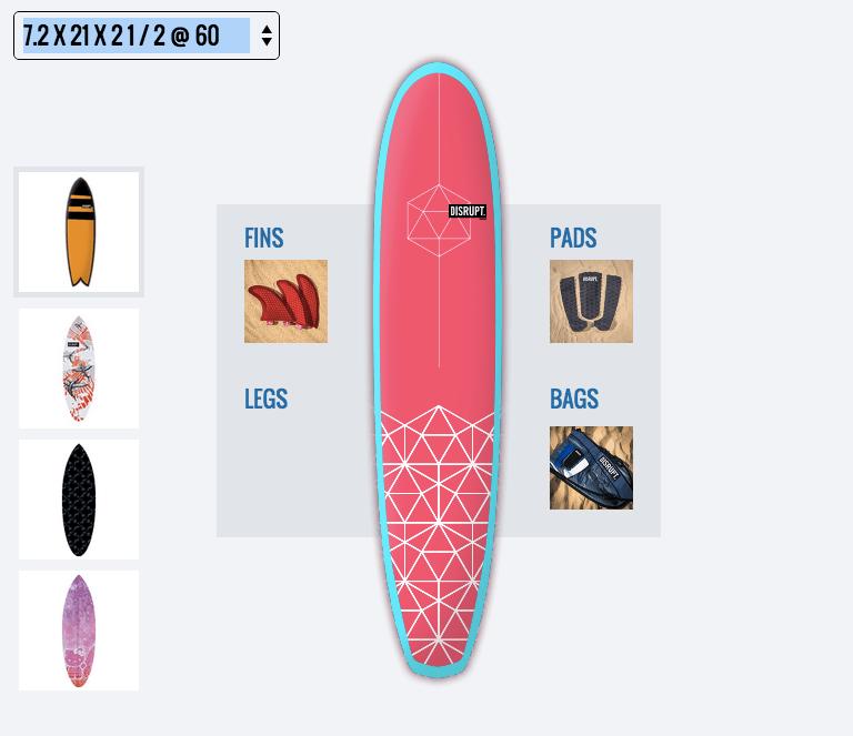 Disrupt 3D printed surfboard7