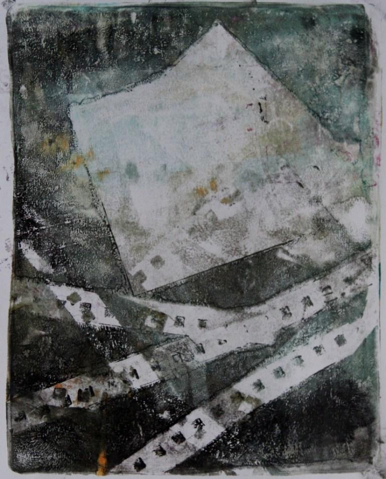 Gelatin print on paper, 8 x 10 in