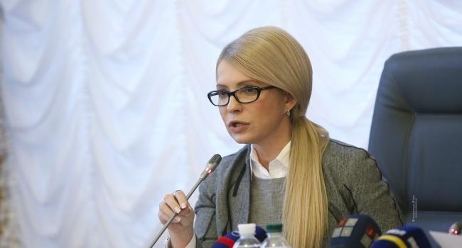 Тимошенко просила Варфоломея отложить предоставление Томоса об Автокефалии в связи с «нестабильной ситуацией в Украине»