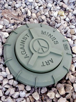 anti-personnel land mine