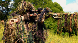 Snipers Compete in Sniper Stalking Event