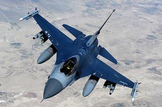 F-16 Aerial Refueling